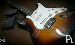 Electric Guitar with Effects P8,000 negotiable