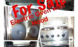 La Germania Electric Stove/Oven with Hood 2nd hand