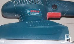 Slightly Used BOSCH Sander Long Size...1-month old pa