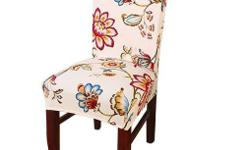 This chair covers with stretched can fit most home