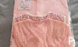 Elfindoll Infant Dress/Overall with 2 sets of bib