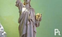 Figurine of Statue of Liberty, height 20 inches by 6