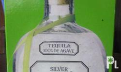 Empty Patron tequila Bottle. For storage of small items