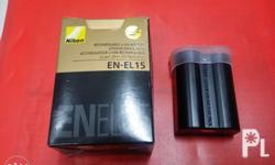 EN-EL15 nikon battery -good and high quality -with
