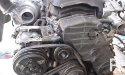 Engine and other parts Pull out from Isuzu Trooper FOR