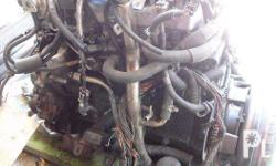 Engine and Other Parts from Isuzu Trooper