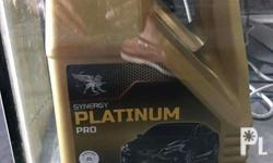 Synergy Platinun Pro 4LITERS SAE 5W-40 Package 5,000