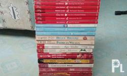 Selling it as a set for Php550.. All in good condition