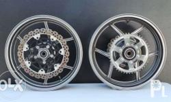 ENKEI MOTORCYCLE MAGS/CAST WHEELS Made in Japan Perfect