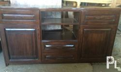 TV Rack Made of mahogany wood We accept made to order