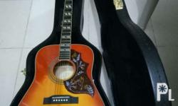 1. The Epiphone Hummingbird PRO Acoustic guitar brings