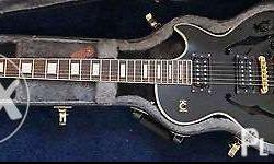 Sale My les paul custom epiphone hollow body,with case
