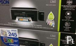Epson L360 Ink Tank Printer with UV Dye - 6799php Epson