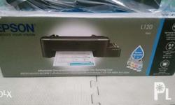 epson L120 single function free delivery!! For