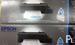 Epson L120 Printer with Pigment Ink Brand New P4700 00