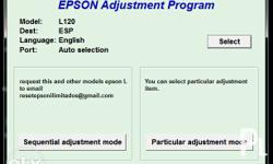 Epson L120 Service Required Reset On Call for Sale in Guiguinto