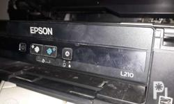 Epson L220 printer paper feeder waste tank repair home