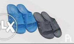 ESD slippers Color: Blue & Black Sizes: 36, 38, 40, 42,