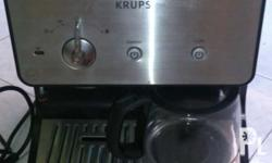 -KRUPS espresso/coffe (maker) machine. No manual and