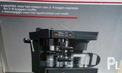 Selling my espresso, coffee, and capuccino machine in