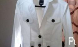 Esprit White Coat/Jacket In a very good condition Hindi