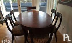 Ethan Allen Hathaway Dining Table � Crafted from
