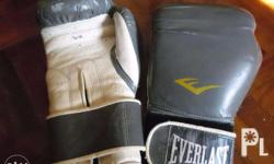 FS : Everlast Boxing Gloves 2 Tone / White & Gray TA