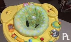 Exersaucer in very good condition Can rotate 3-way