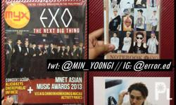 MYX Magazine Exo Cover: PHP75 Unofficial EXO Notebook: