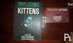 Brandnew(sealed) Exploding Kitten - 350 Orignal & NSFW