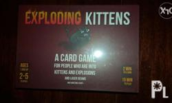 Exploding Kittens Card Game Board Game