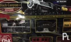 Selling a brand new old stock express canyon Train set.
