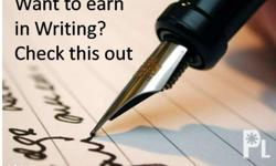 Want to earn by just writing? Can earn 50 dollars per