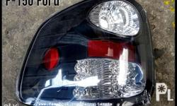 Ford F150 Ford led tail lamps. Smoke crystal. Projector