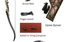 F179 Recurve bow package