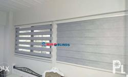 Fabric Horizontal Blinds Php. 230.00/sq. ft Pattern: