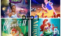 Fairy tales collection (5dvds)- P300 If per dvd -P100