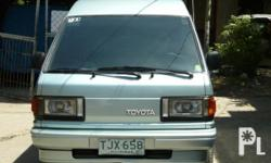 FAMILY CAR.... FOR SALE! 93mdl Toyota Lite-Ace 3M