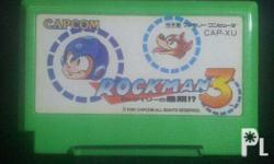 Rockman 3 Famicom Tested and working Payment method -