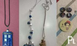 - Doctor Who: necklaces bundle (second-hand, with free