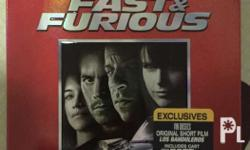 Fast and Furious IV Bluray 2 discs special edition