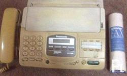 For Sale Panasonic Fax Machine W/ Phone, Made in Japan