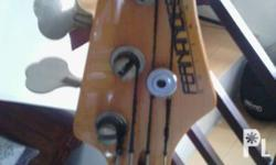 Fernandez Bass guitar Jazz bass With bass cover Made in