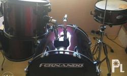 Fernando drumset in good condition � hi-hat stand �