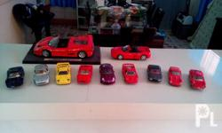 Selling my collection of: FERRARI DIECAST MODEL CARS