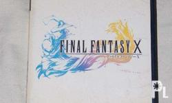 Final Fantasy X PS2 original Japanese version With