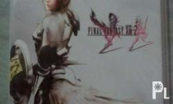 For sale Final fantasy XIII-2 PS3 game Condition: