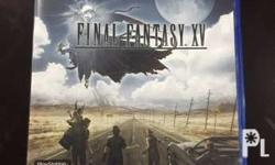 For Sale final fantasy XV dvd game In mint condition