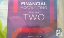 Selling my Financial Accounting Vol. 2 (2017) Author: