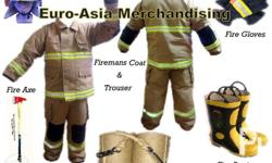 Brand New Fire-mans Coat and Trouser Fire-Axe Fire-Rope